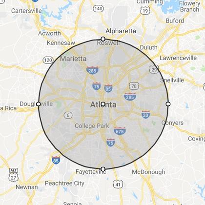 Atlanta GA Location
