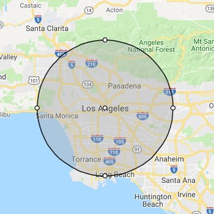 Los Angeles CA Location